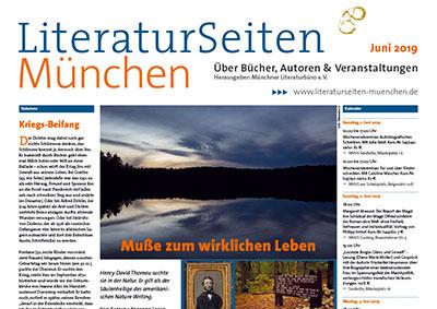 LiteraturSeiten München Juni 2019