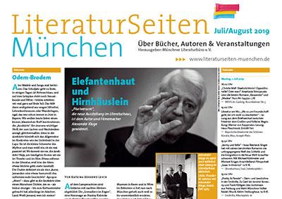 LiteraturSeiten München Juli/August 2019