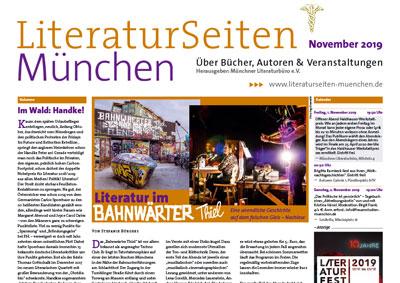 LiteraturSeiten München November 2019