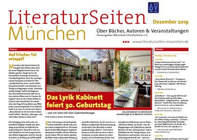 LiteraturSeiten München September 2019