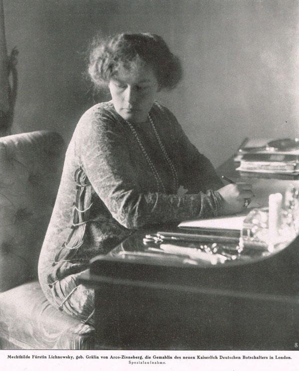 Mechtilde Lichnowsky (Foto: Wikimedia CC)