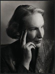Oda Schaefer Foto: Jutta Selle. Quelle: Münchner Stadtbibliothek/Monacensia P/a 485-25